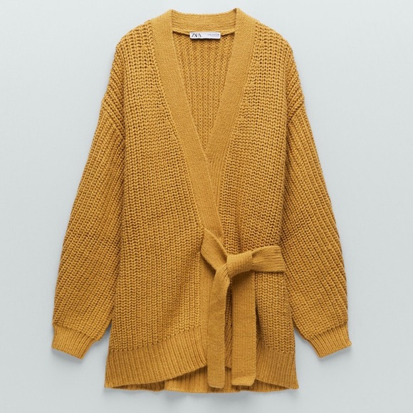 Zara Tied Knit Sweater